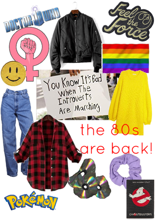 """""""GUYS, the 80s are back!!!"""""""
