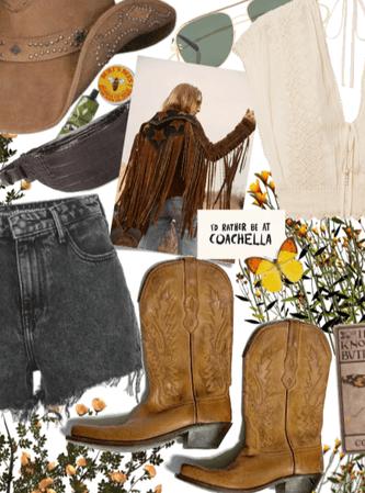 Coachella CowGirl Style