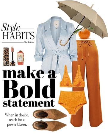 boldly take on the rain