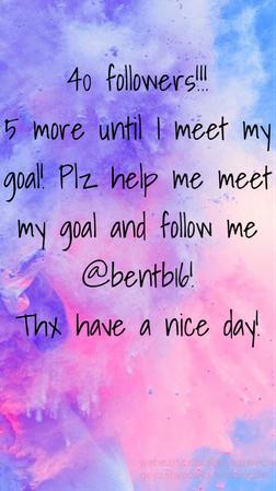 pls follow me @bentb16!