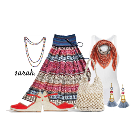Holiday Long skirts and Tops