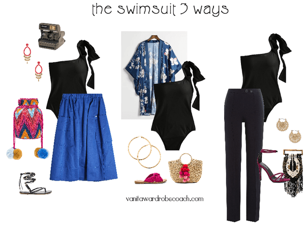 Swimsuit 3 Ways