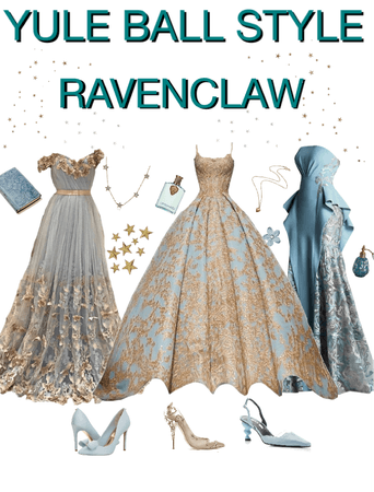 yule ball style inspo ravenclaw
