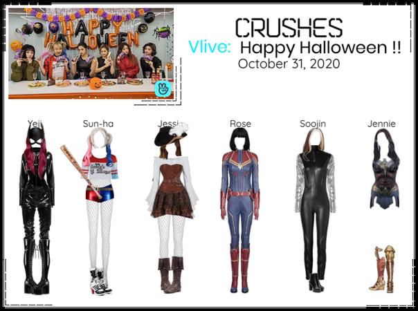Crushes (호감) Halloween Surprise Vlive