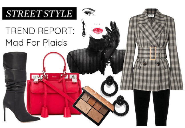 Street Style Trend Report: Mad for Plaids