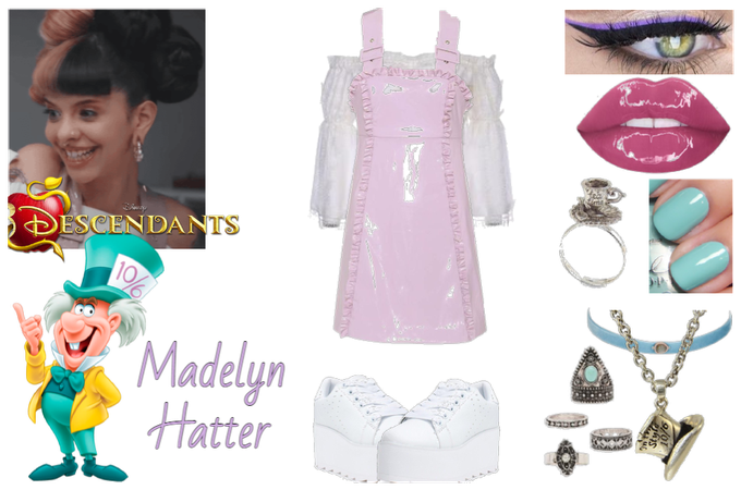 Madelyn Hatter - Meeting The Isle Kids