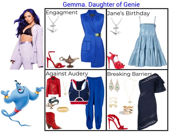 Gemma. Daughter of Genie. Descendants 3