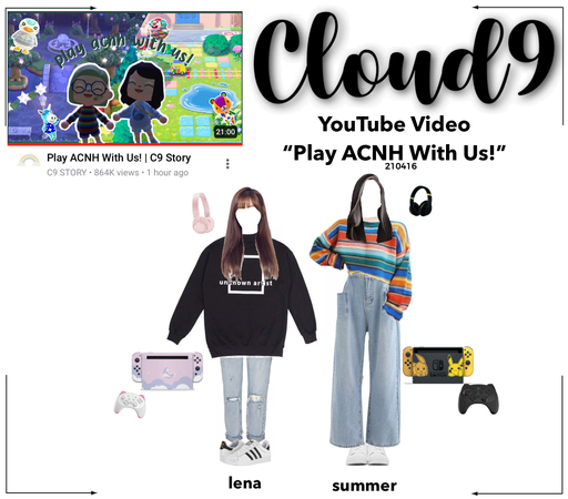 Cloud9 (구름아홉)   Play ACNH With Us! C9 Story Video