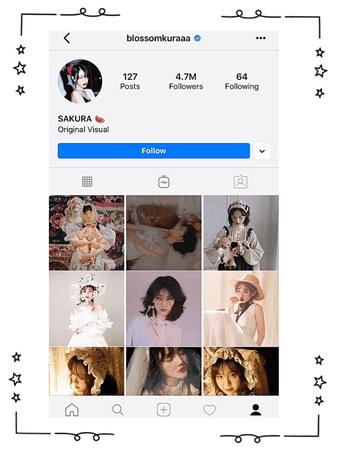 Sakura Instagram