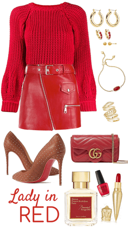 Lady in Red.