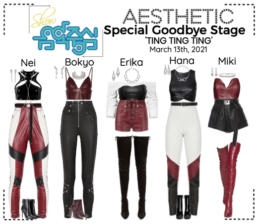 AESTHETIC (미적) [MUSIC CORE] Special Goodbye Stage