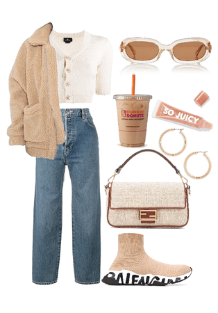 Fall Beige Outfit