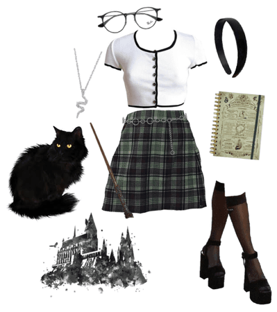 if i went to hogwarts: slytherin