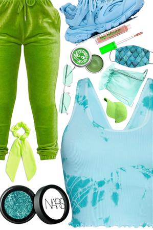 blue & green 💚💙💚💙