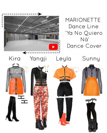{MARIONETTE} 'Ya No Quiero Ná' Dance Line Cover