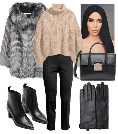 winter business look