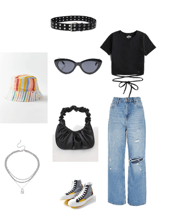 indie outfit basic