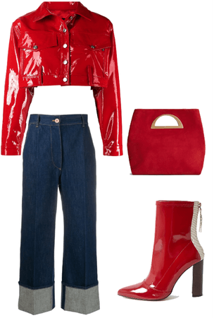 Red and Jeans