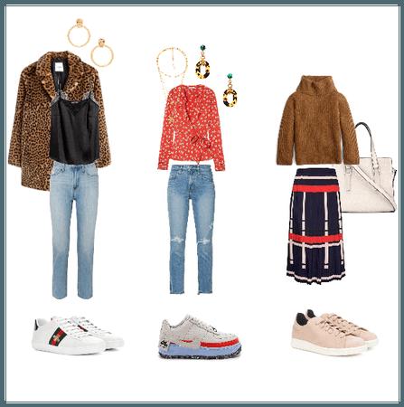 Sneakers: Styled 3 ways
