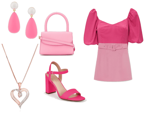 #auroraoutfit and #pinkoutfit