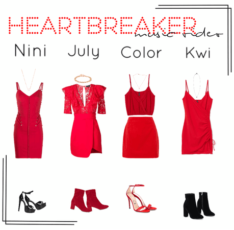 Heartbreaker||Music Video outfits||[4est]•