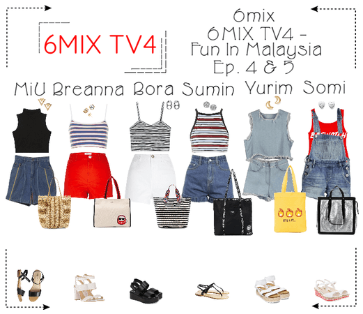 《6mix》6mix TV4: Fun In Malaysia - Ep. 4 & 5