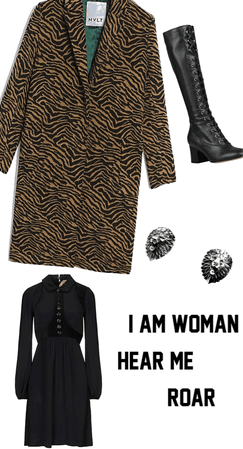 I am woman hear me roar