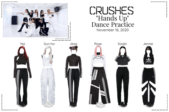 """Crushes (호감) """"Hands Up"""" Dance Practice"""