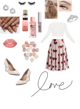 sweet Valentine's Day look 💞