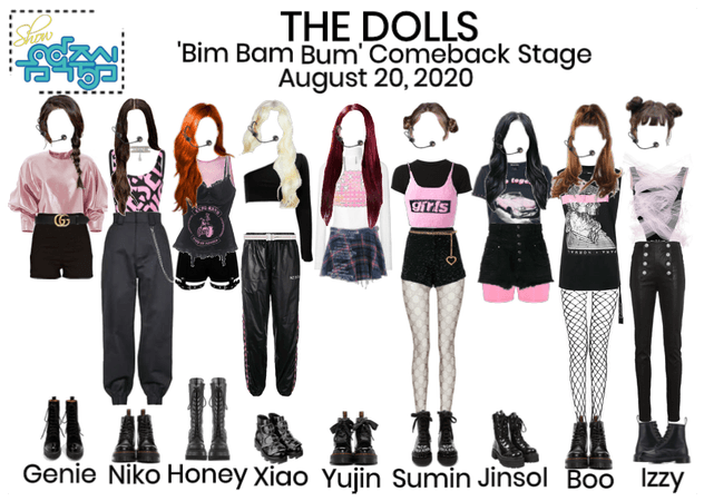 [Bim Bam Bum] Comeback Stage - Music Core (Read D)