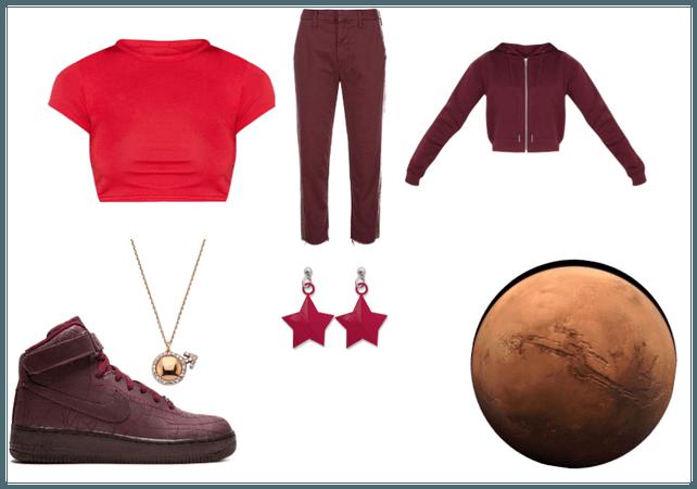 Space Fashion: Mars