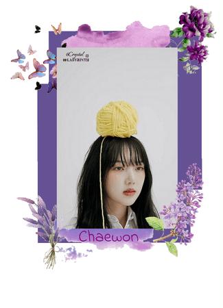 Chaewon photoshoot of LABYRINTH