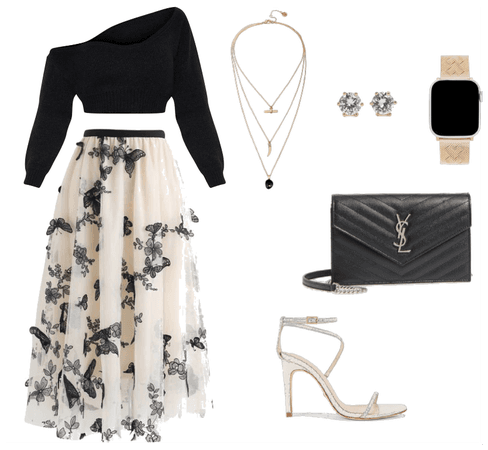 Elegant Date Night Outfit