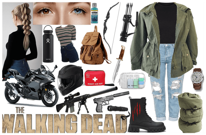Walking dead inspired outfit