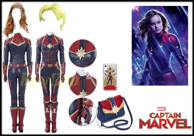 Captain Marvel Movie Inspire Costumes