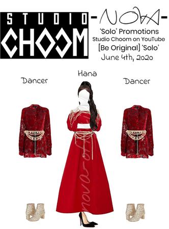 -NOVA- 'Solo' Studio Choom