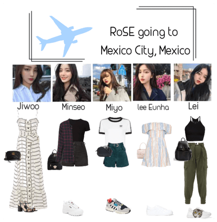 RoSE arriving At Mexico City, Mexico