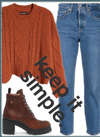 Autumn - keep it simple