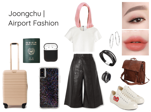Joongchu Airport Fashion | Los Angeles Arrival!