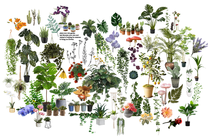 Dear Green and Growing Things