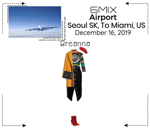 《6mix》Airport | Seoul, SK To Miami, US
