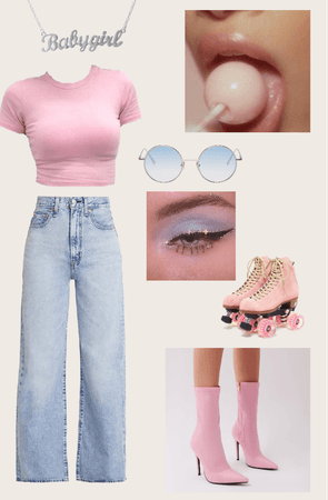 blue and pink babygirl