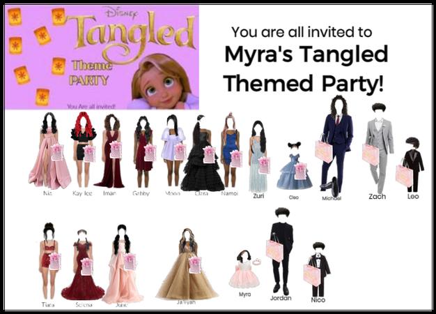 TANGLED THEMED PARTY! HAPPY BIRTHDAY MYRA!