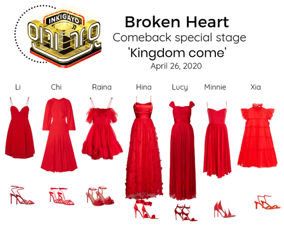 Broken Heart special stage 'Kinngdom come'