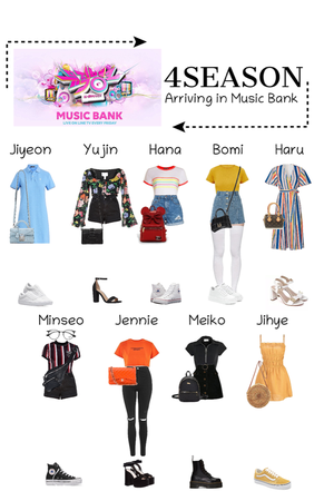 -4SEASON- Arriving in Music Bank