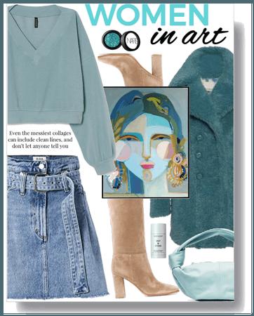 Women in art II.