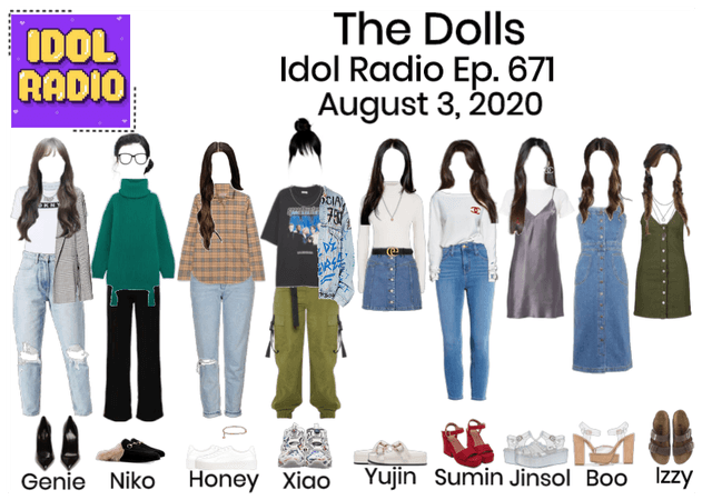 The Dolls on Idol Radio