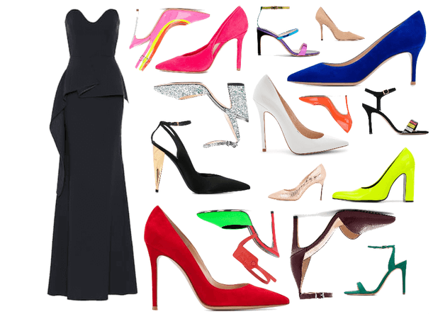One dress; a shoe for everyone.