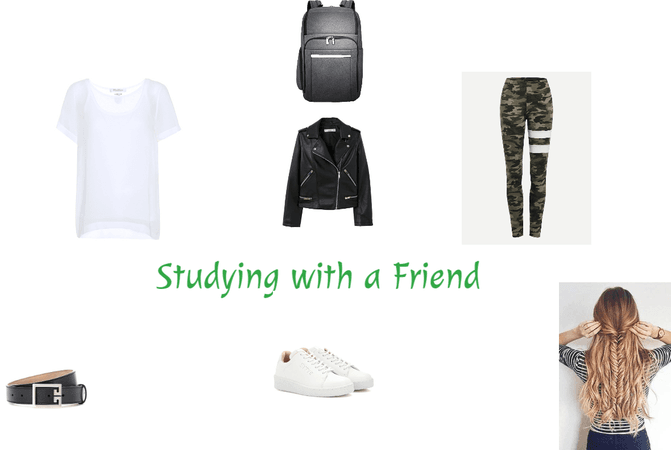 Studying with a Friend