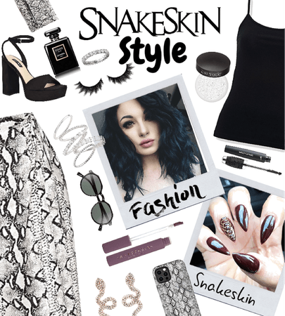 Snakeskin chic